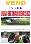 vente ulm multiaxe skyranger 582 d'occasion,ulm a vendre,vente ulm ,ulm occasion,ulm occasions,occasion ulm,ulm 3 axes à vendre,prix ulm d'occasion,rotax 582,affaire ulm,ulm abordable,ulm accessible,voler en ulm,acheter un ulm,prix ulm multiaxe tube et toile,toile vernie